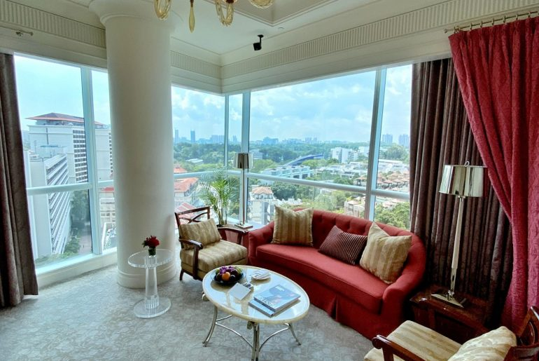Hotel Review: The St. Regis Singapore (Caroline Astor Suite) – Grand, Opulent Luxury with Fantastic Spa in Tanglin
