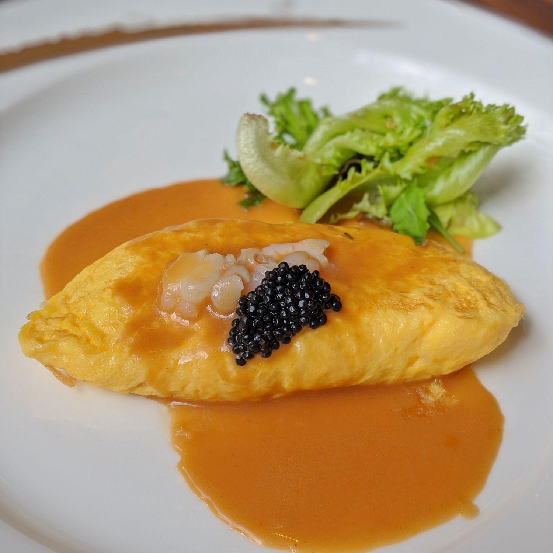 the st. regis singapore brasserie les saveurs breakfast epicurean omelette