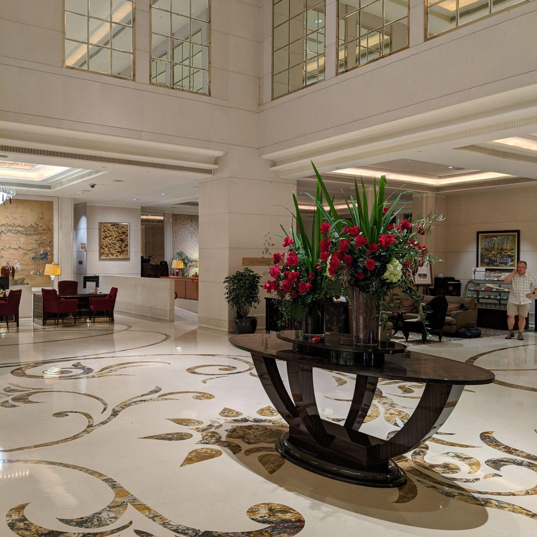 the st. regis singapore lobby