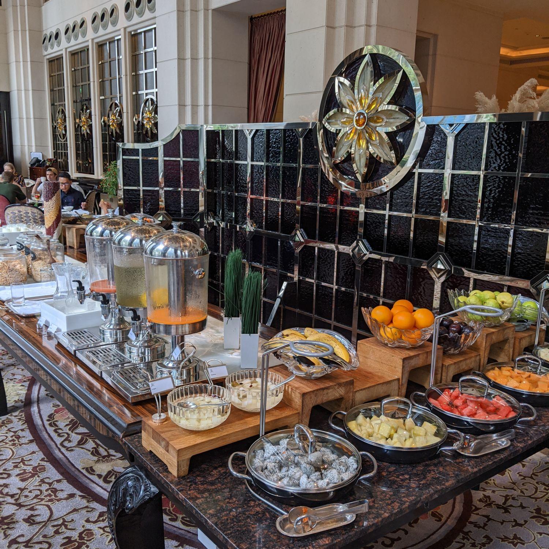 the st. regis singapore brasserie les saveurs breakfast