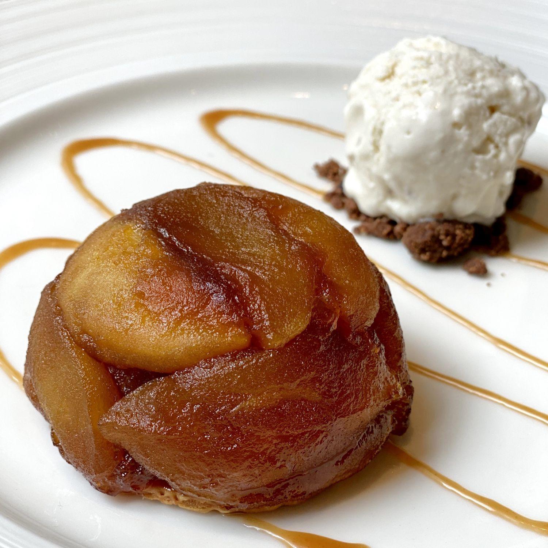 the st regis singapore brasserie les saveurs Tatin de Pommes