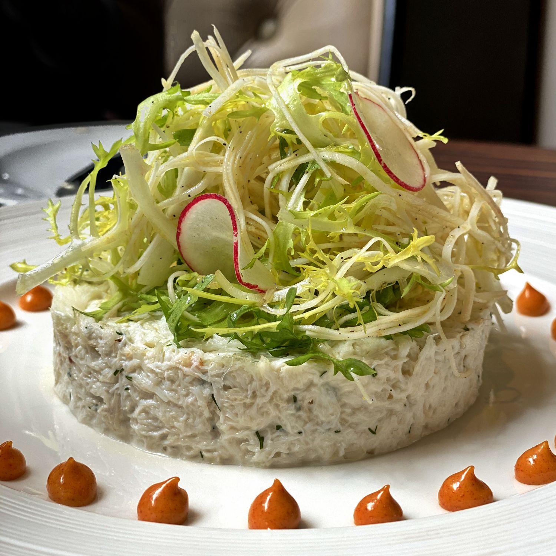 the st regis singapore brasserie les saveurs Salad de Crabe