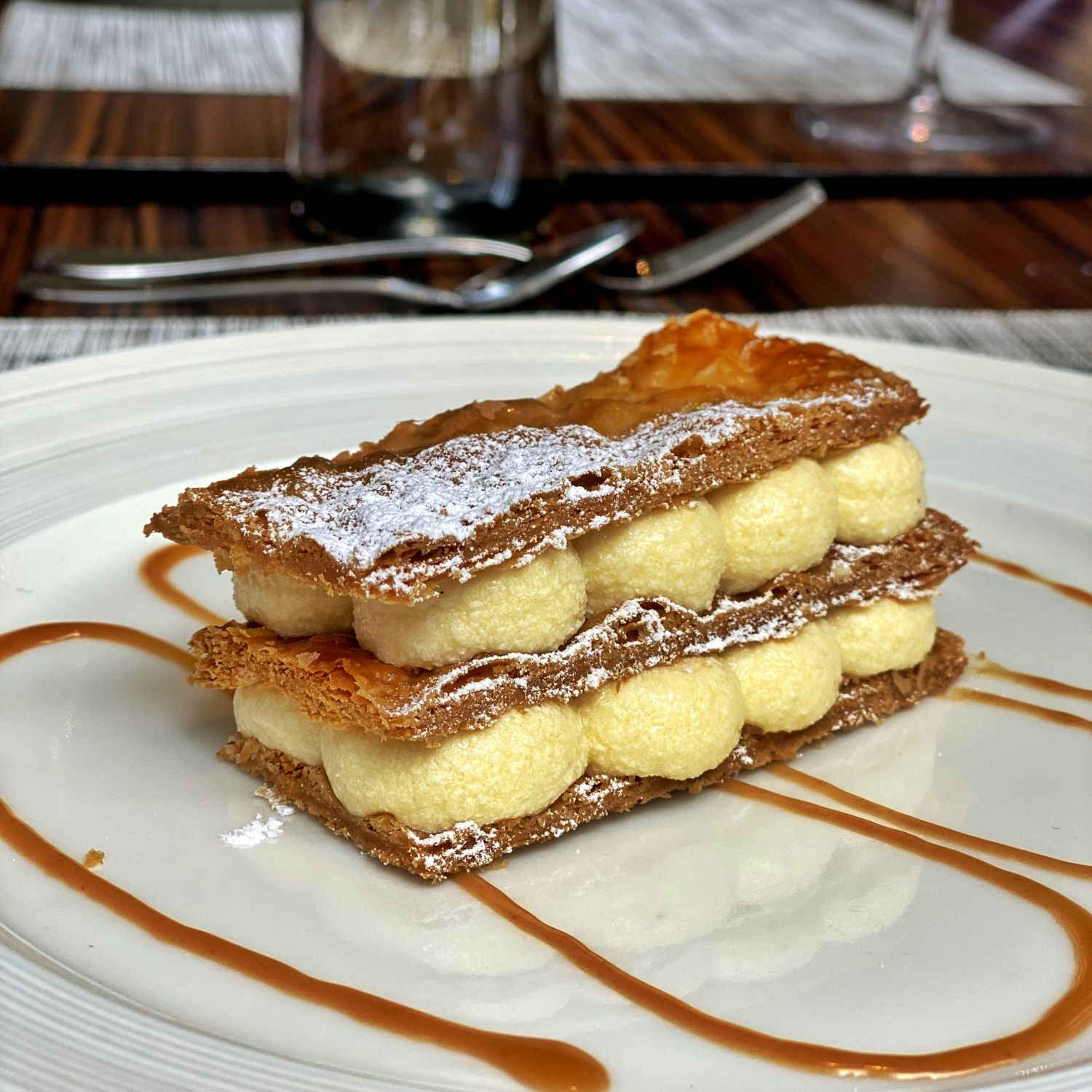 the st regis singapore brasserie les saveurs Mille-Feuille Traditional Vanille