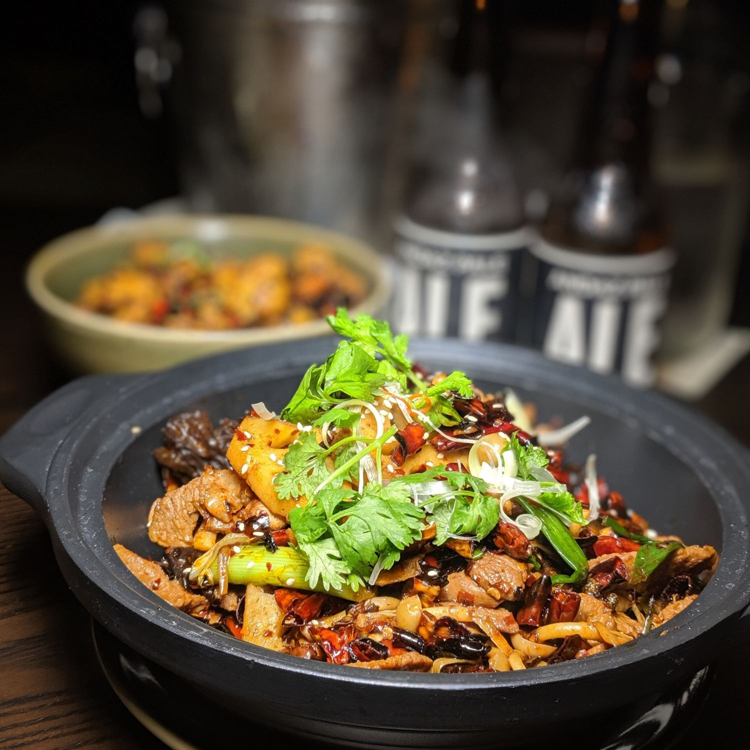 andaz singapore auntie's wok & steam Kurobuta Pork Collar Large Claypot