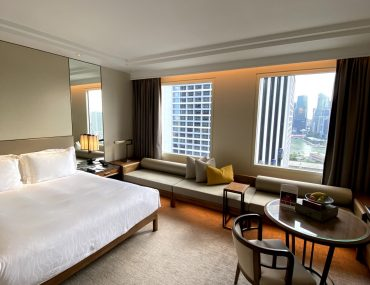 Hotel Review: Conrad Centennial Singapore (Executive Room) – Luxurious Business Hotel with Good Executive Lounge Near Marina Bay