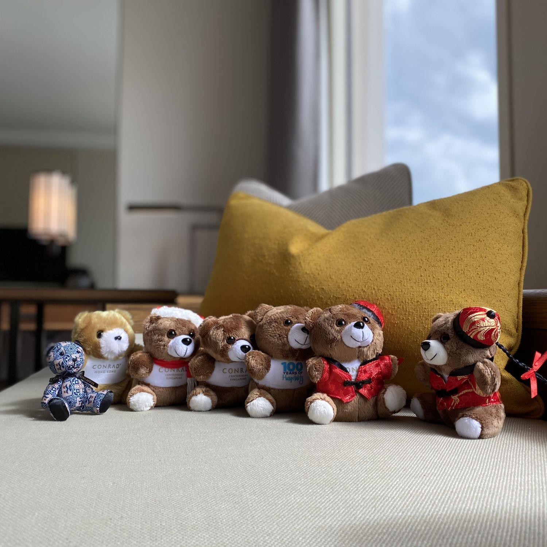 conrad centennial singapore conrad mascot teddy bears