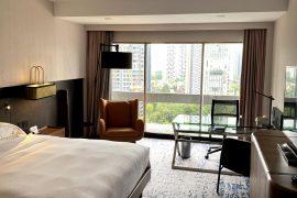hilton singapore executive suite bedroom
