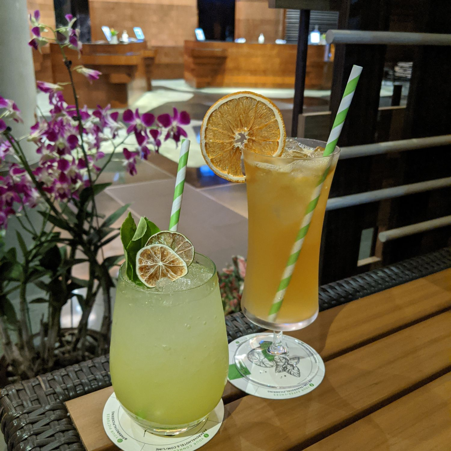 PARKROYAL COLLECTION Pickering, Singapore lime bar Spike Your Limeade and Punched by Bruce Lee