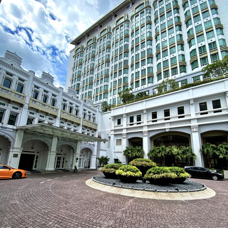 intercontinental singapore driveway