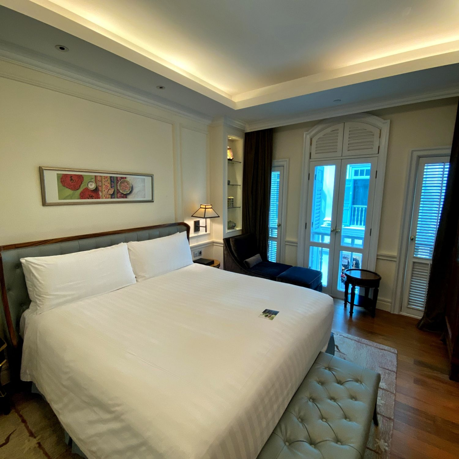 intercontinental singapore heritage suite bedroom