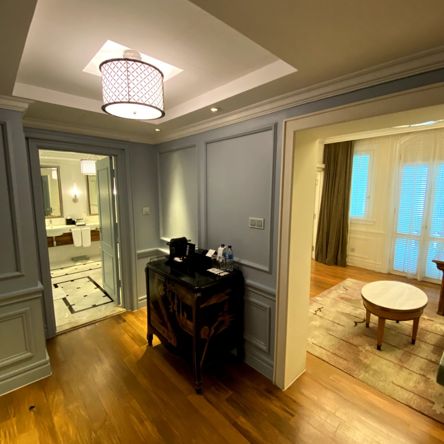 intercontinental singapore heritage suite
