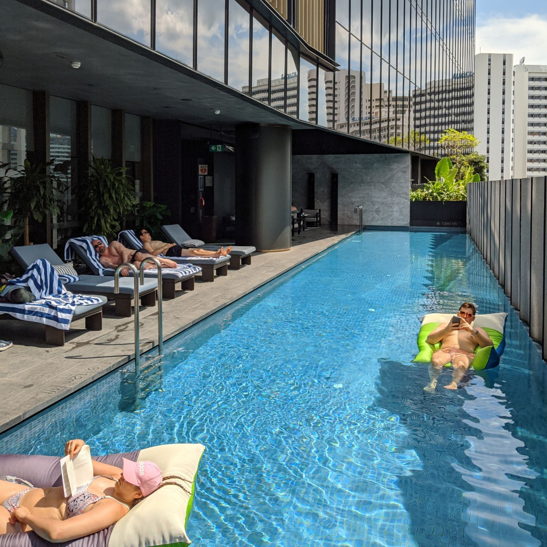 InterContinental Singapore Robertson Quay swimming pool
