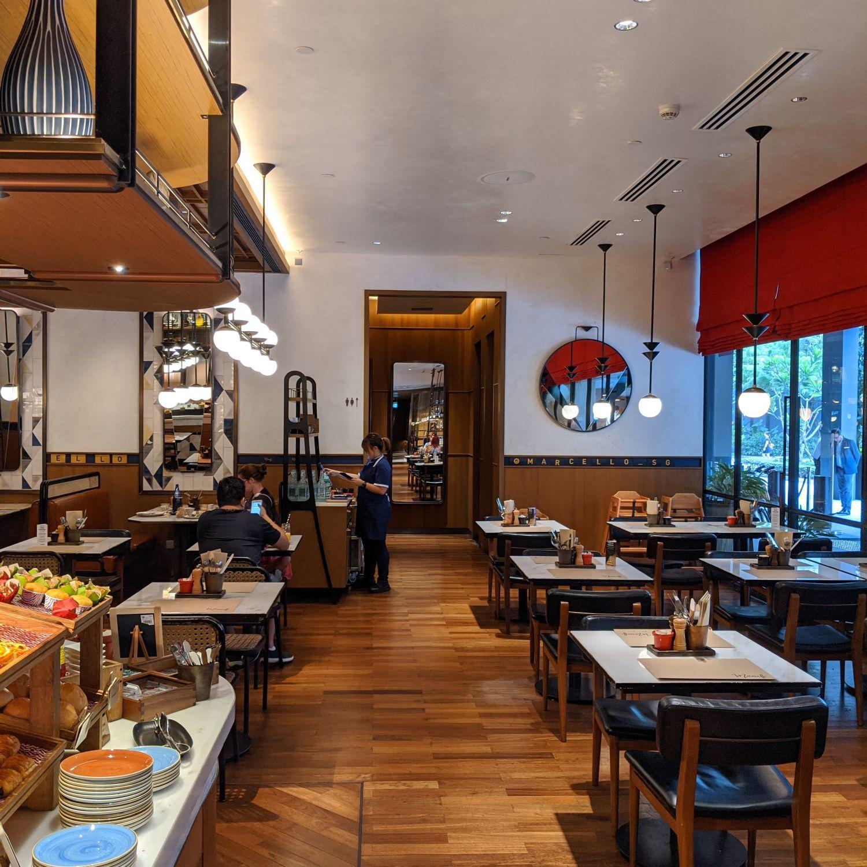 intercontinental singapore robertson quay marcello breakfast