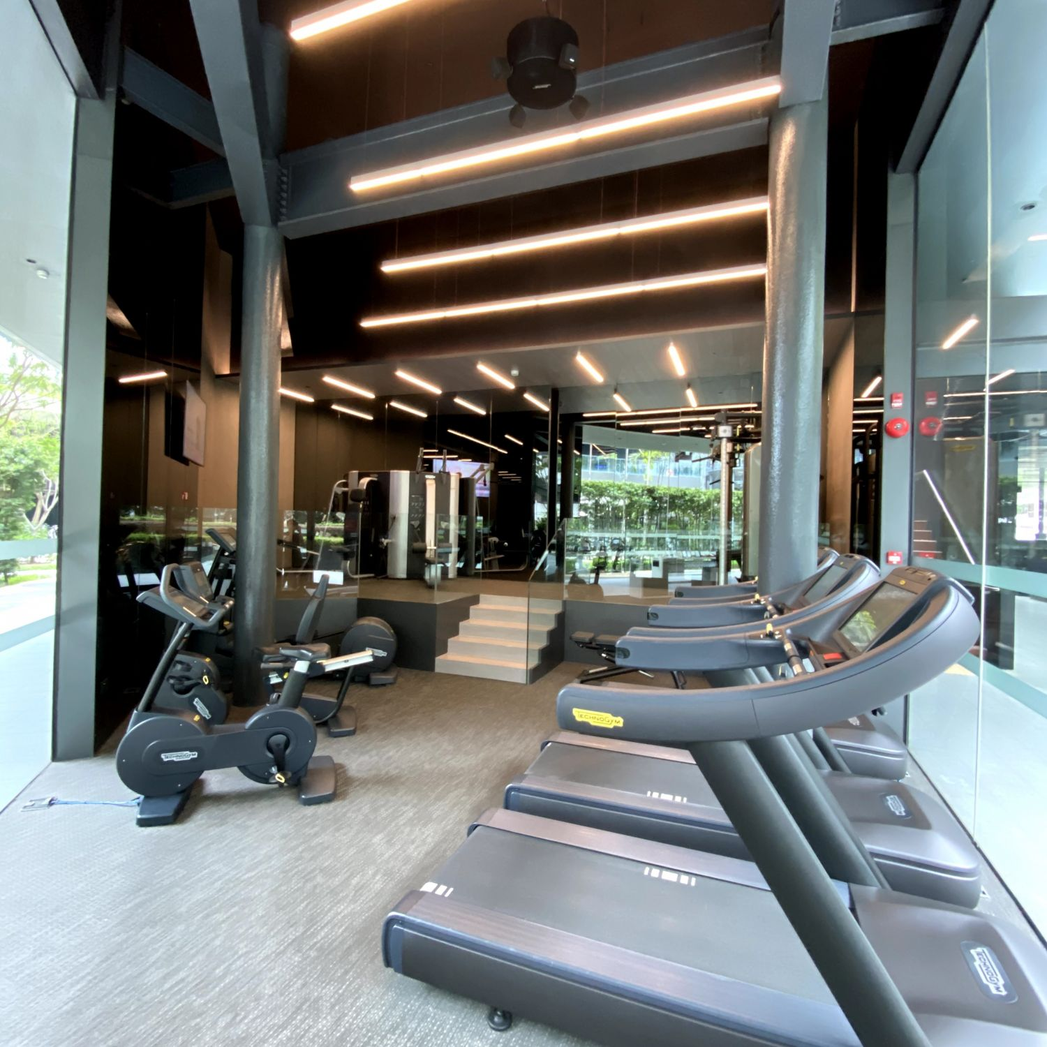 InterContinental Singapore Robertson Quay fitness centre