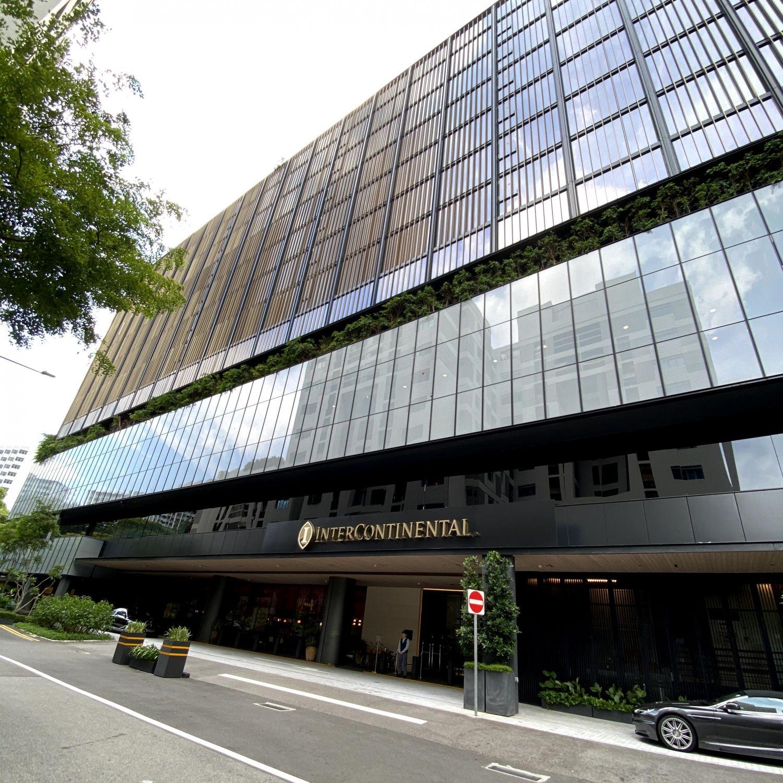 InterContinental Singapore Robertson Quay facade