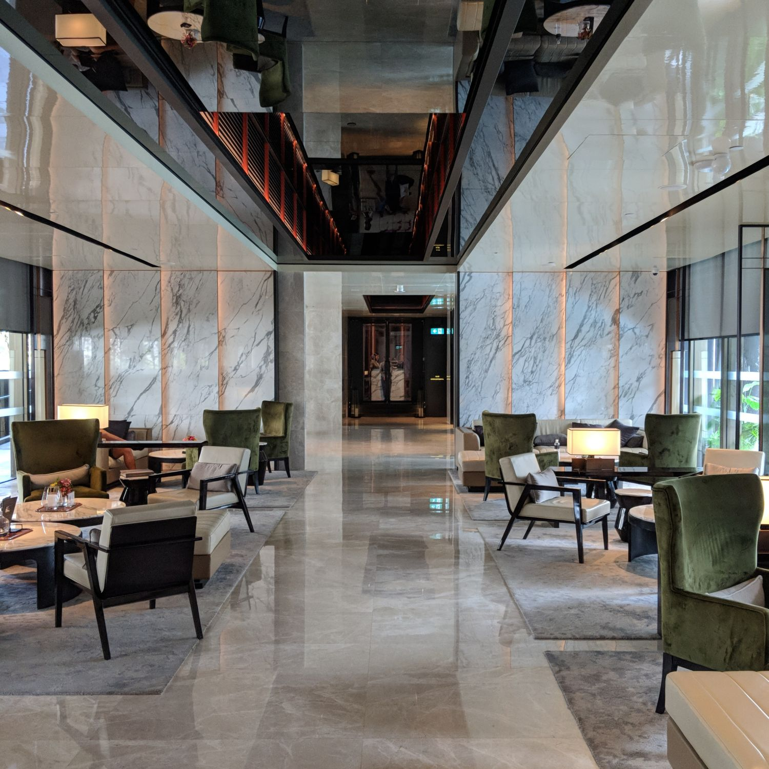InterContinental Singapore Robertson Quay quayside lounge