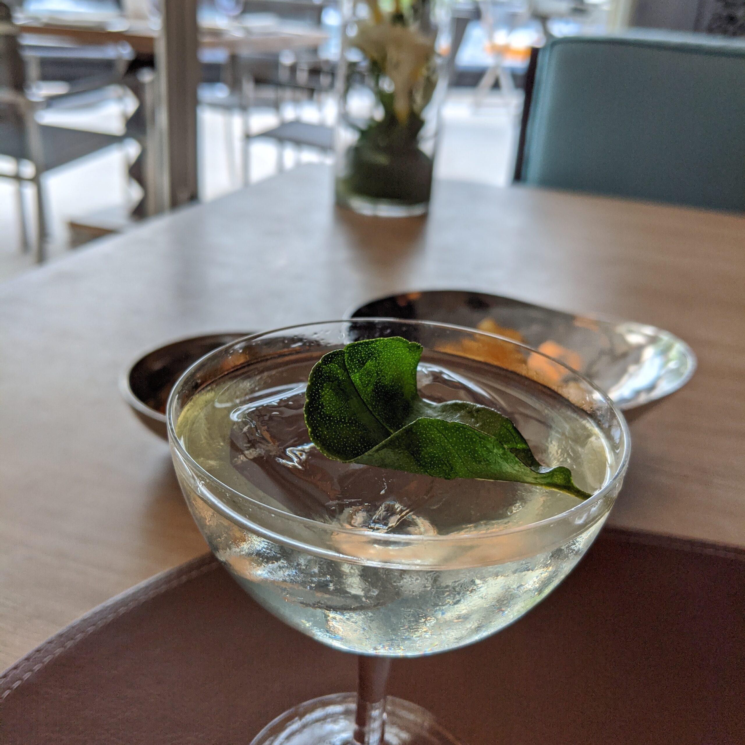 mandarin oriental singapore dolce vita welcome drink the elixir