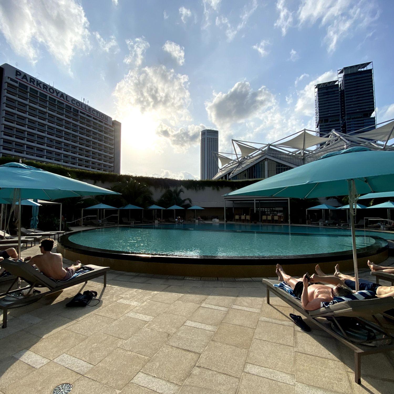 pan pacific singapore swimming pool