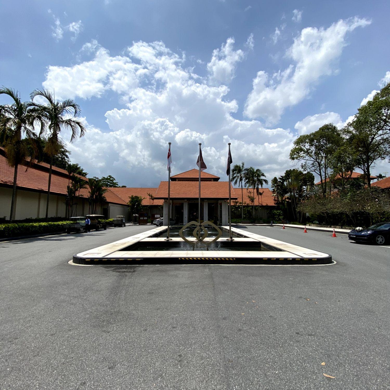 Sofitel Singapore Sentosa Resort & Spa driveway
