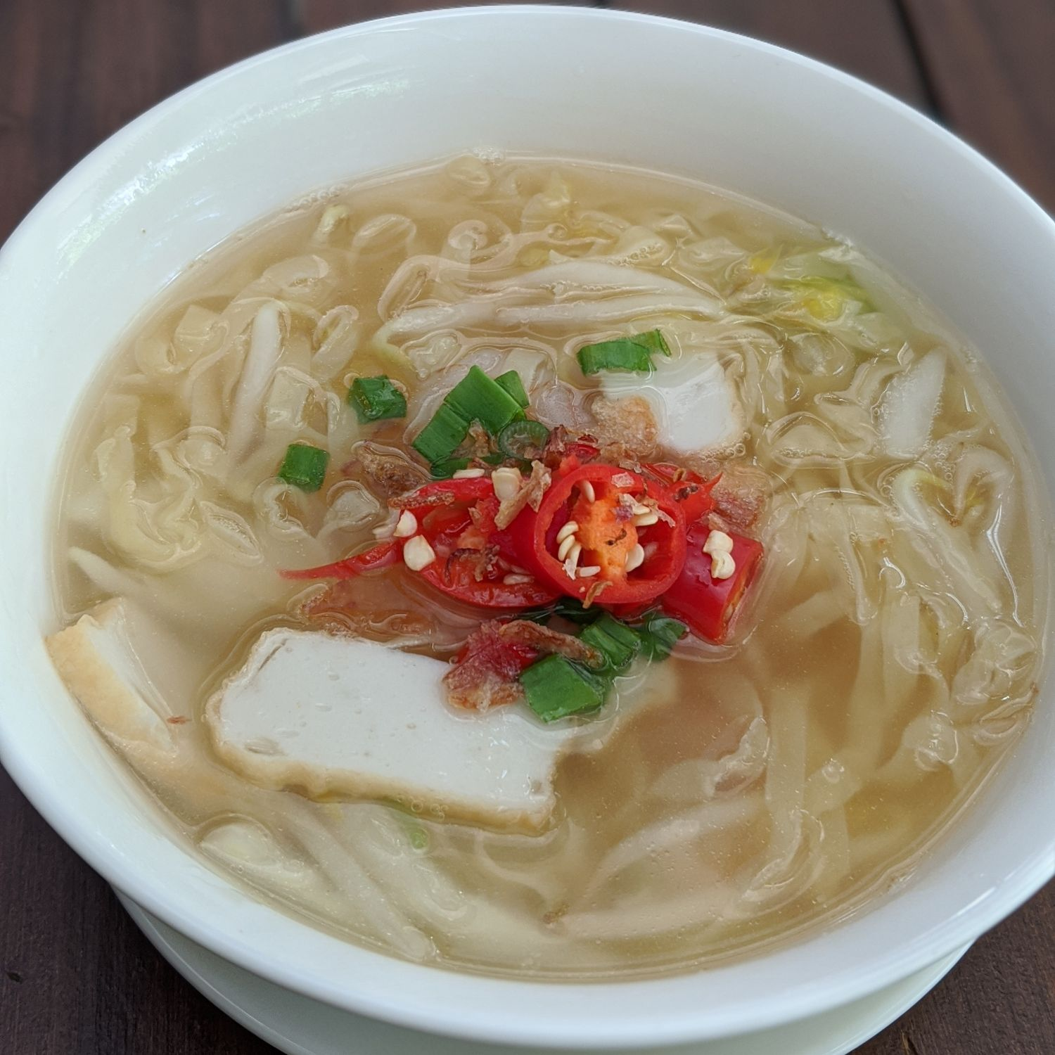 Sofitel Singapore Sentosa Resort & Spa Kwee Zeen Breakfast Chicken Noodle Soup