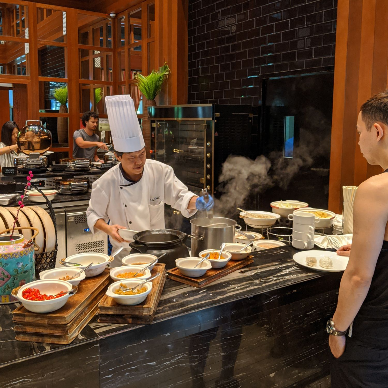 Sofitel Singapore Sentosa Resort & Spa Kwee Zeen Breakfast Noodle Station