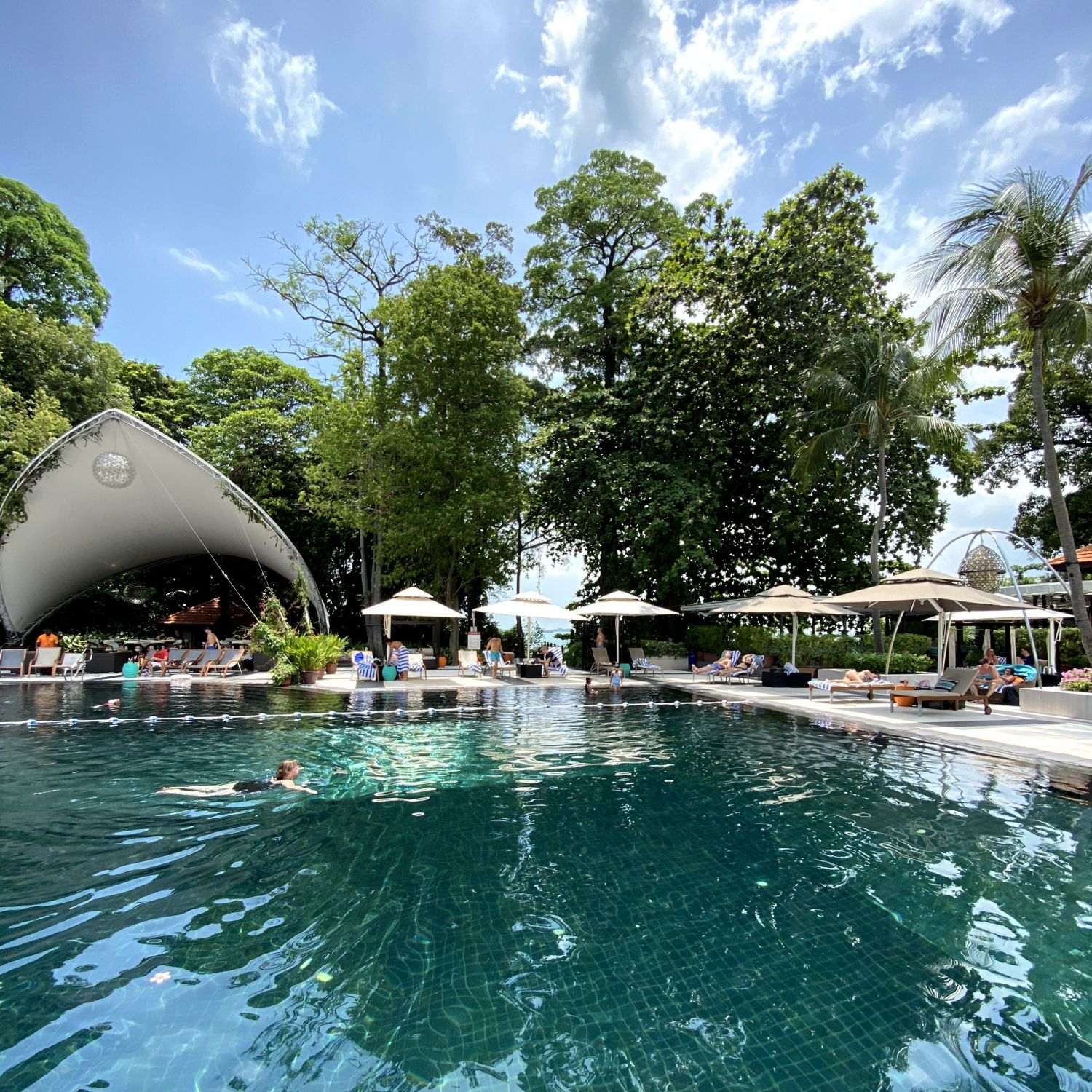 Sofitel Singapore Sentosa Resort & Spa swimming pool