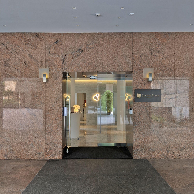 Winsland Serviced Suites by Lanson Place Entrance