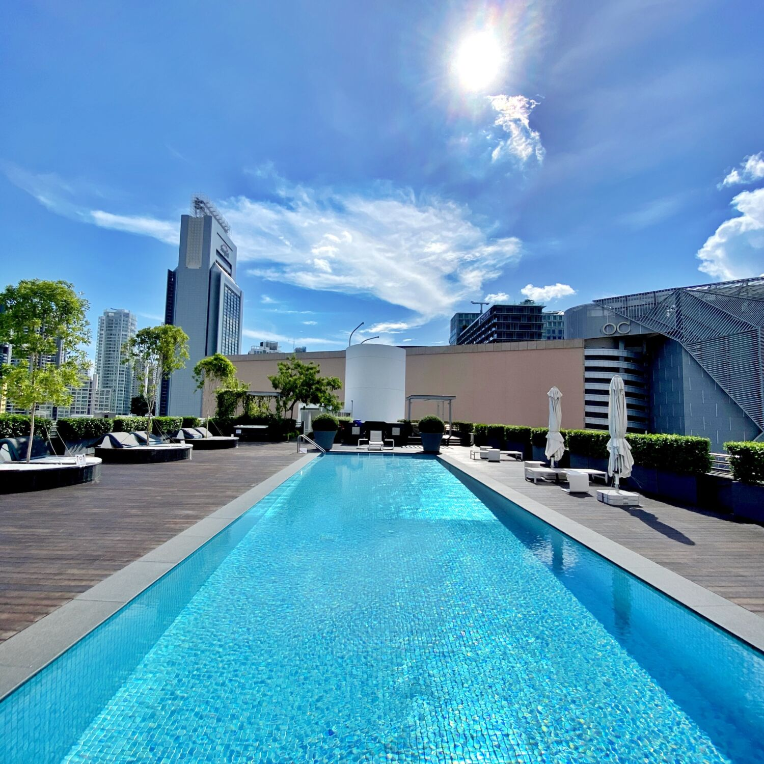 Winsland Serviced Suites by Lanson Place Rooftop Pool