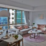 Winsland Serviced Suites by Lanson Place Two-Bedroom Executive Suite Living Room