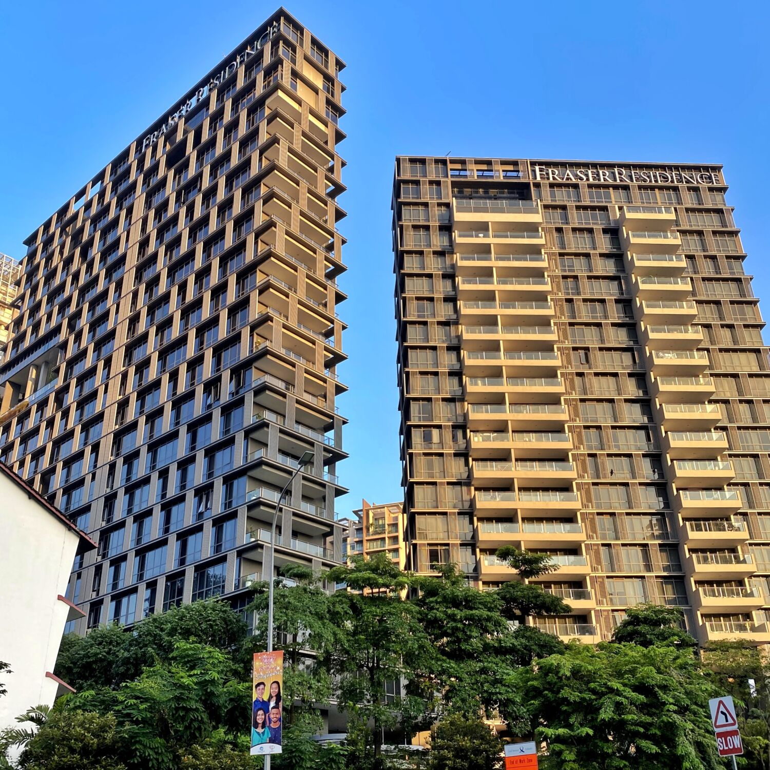 MFraser Residence Orchard Singapore Tower 1 and 2