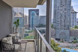Fraser Residence Orchard Singapore One-Bedroom Executive Terrace Balcony