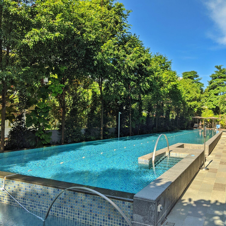 Fraser Residence Orchard Singapore Lap Pool