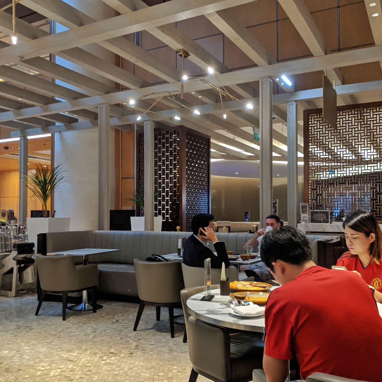 Singapore Marriott Tang Plaza Hotel Marriott Cafe Breakfast