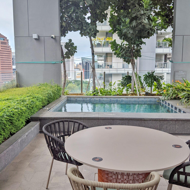 Fraser Residence Orchard Singapore Sky Terrace
