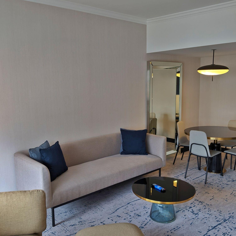 Hilton Singapore Executive Suite Living Room
