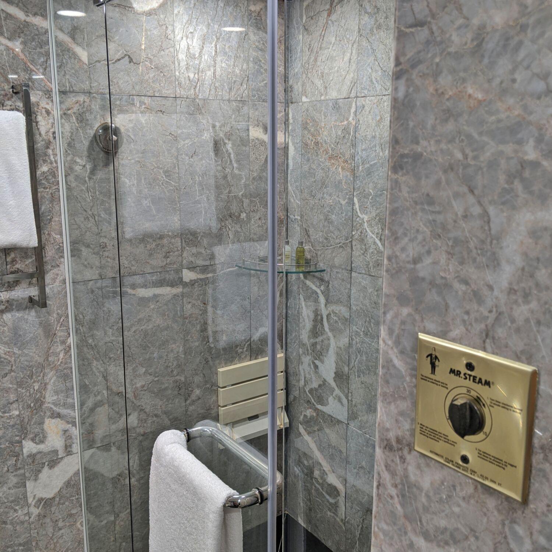 Hilton Singapore Executive Suite Bathroom Steam Room