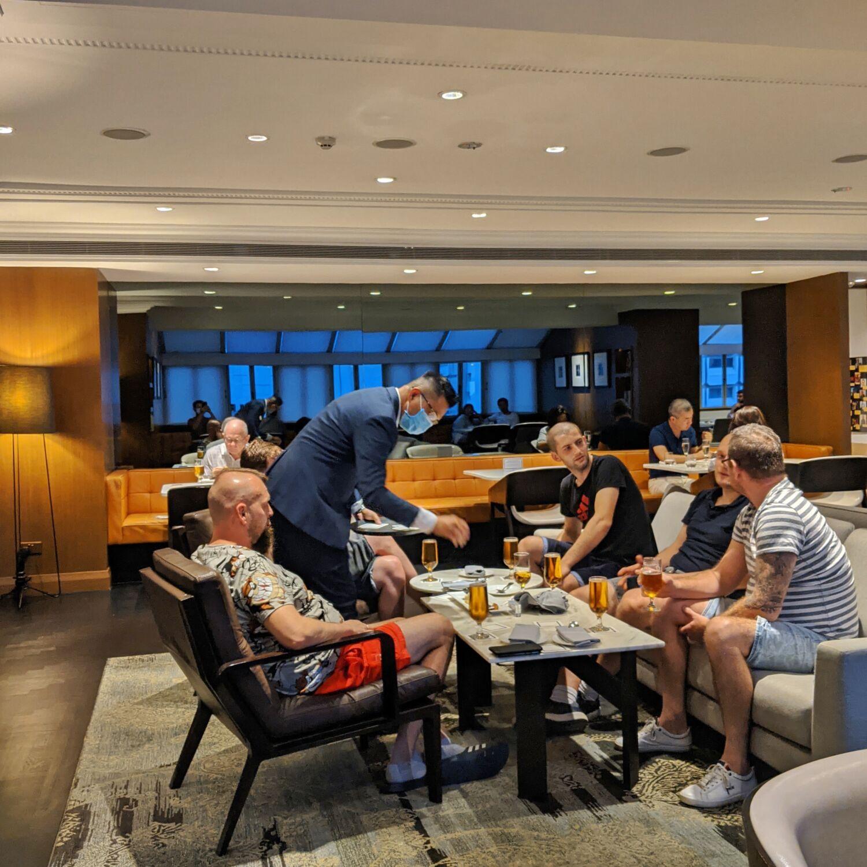 Hilton Singapore Executive Lounge