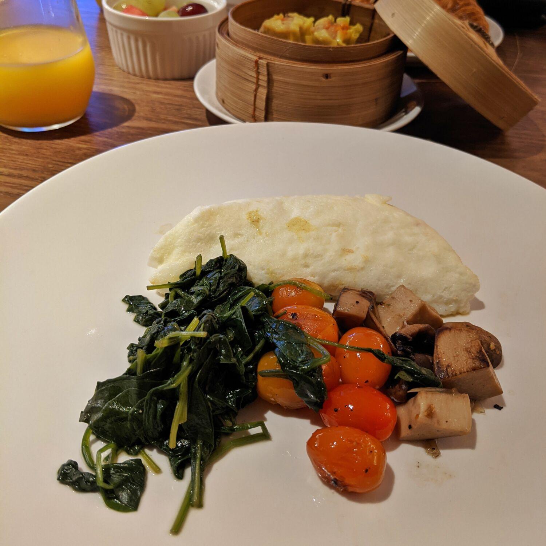 Hilton Singapore Opus Bar & Grill Breakfast Healthy Breakfast