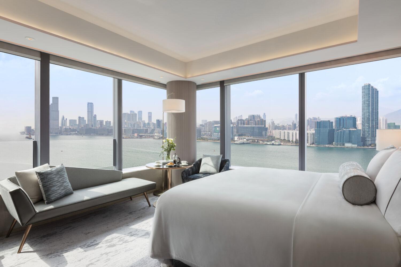 Hyatt Centric Victoria Harbour Hong Kong Harbour View Deluxe Room