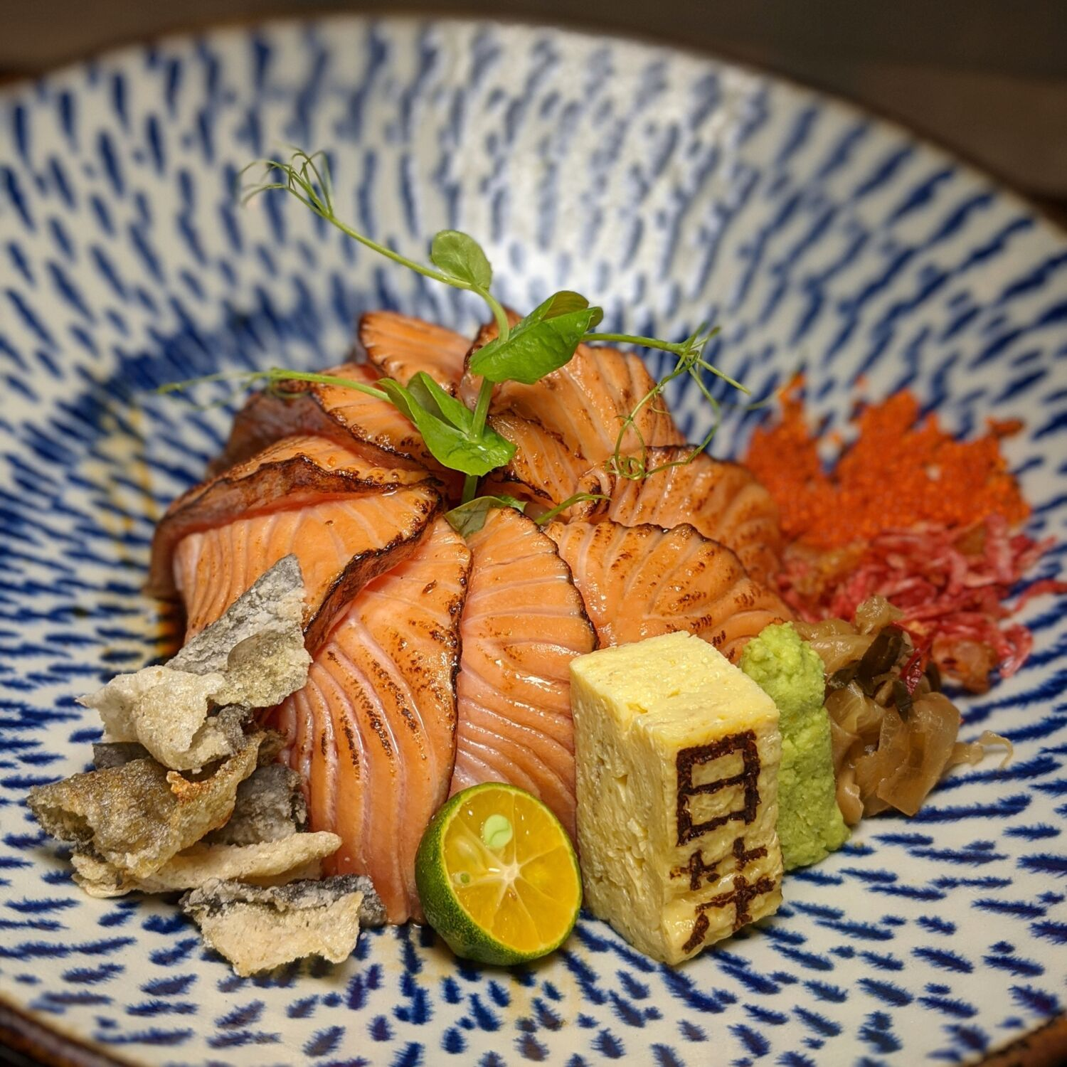 House of Chirashi Singapore Aburi Salmon Don