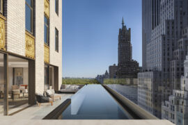 Aman New York Aman Residence Swimming Pool