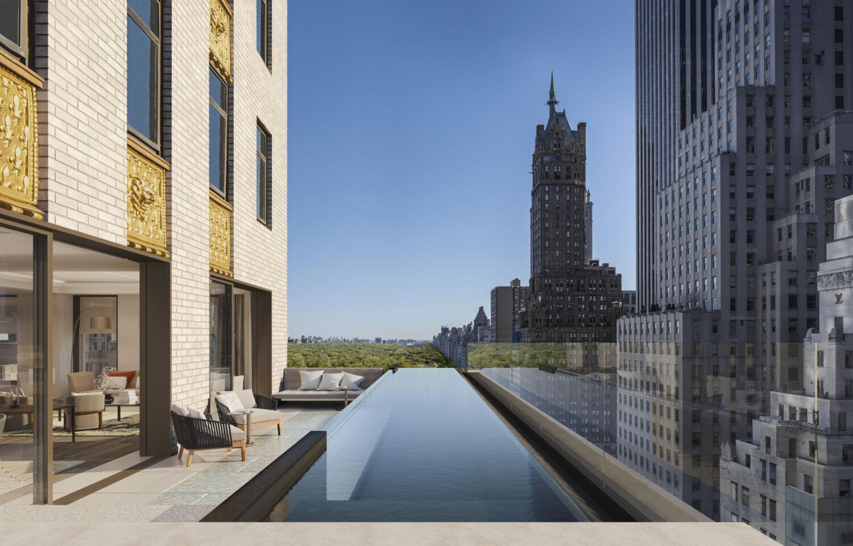 Aman New York Aman Residence Swimming Pool