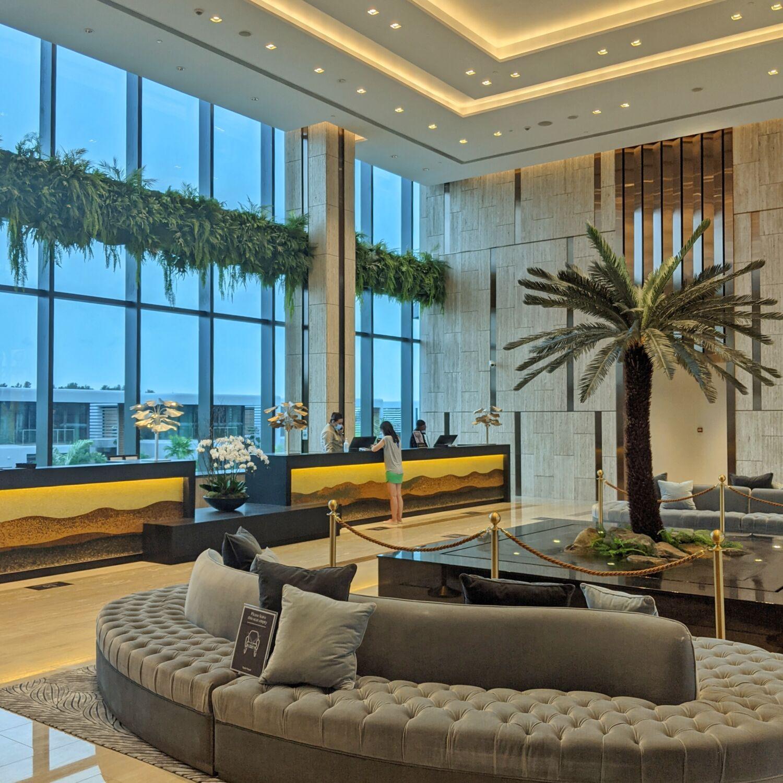 Dusit Thani Laguna Singapore Lobby