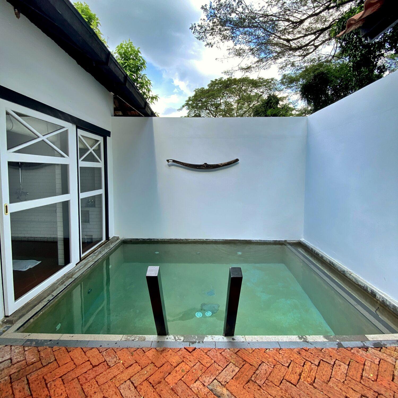 Villa Samadhi Singapore Luxe Sarang Outdoor Plunge Pool