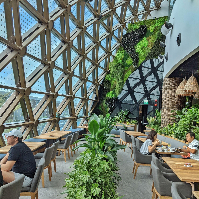 Dusit Thani Laguna Singapore Greenhouse