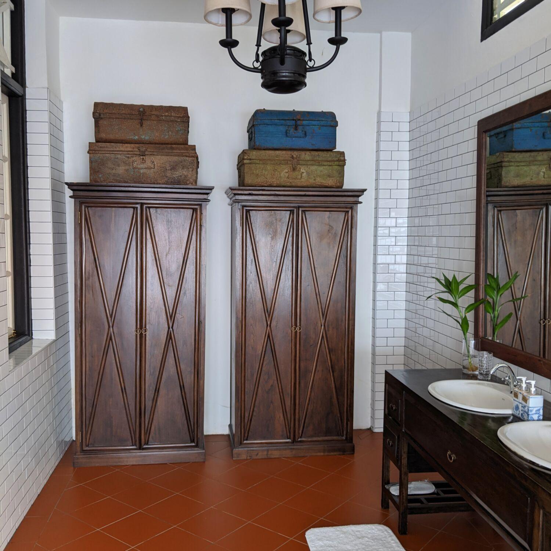 Villa Samadhi Singapore Luxe Sarang Bathroom