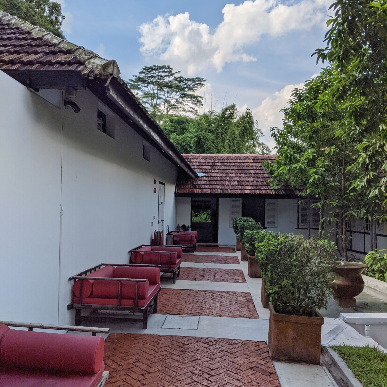 Villa Samadhi Singapore Walkway