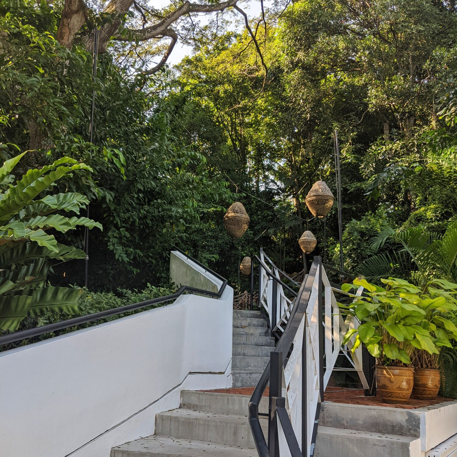 Villa Samadhi Singapore Path to Tamarind Hill
