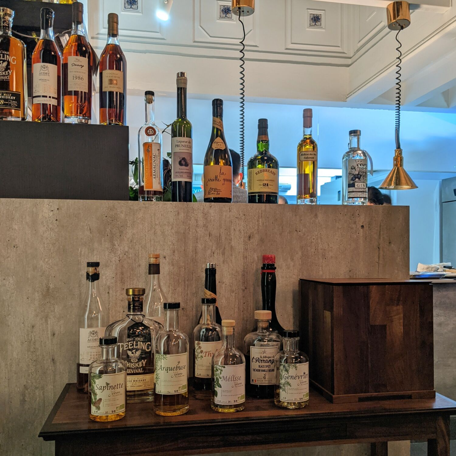 Restaurant JAG Spirits Selection