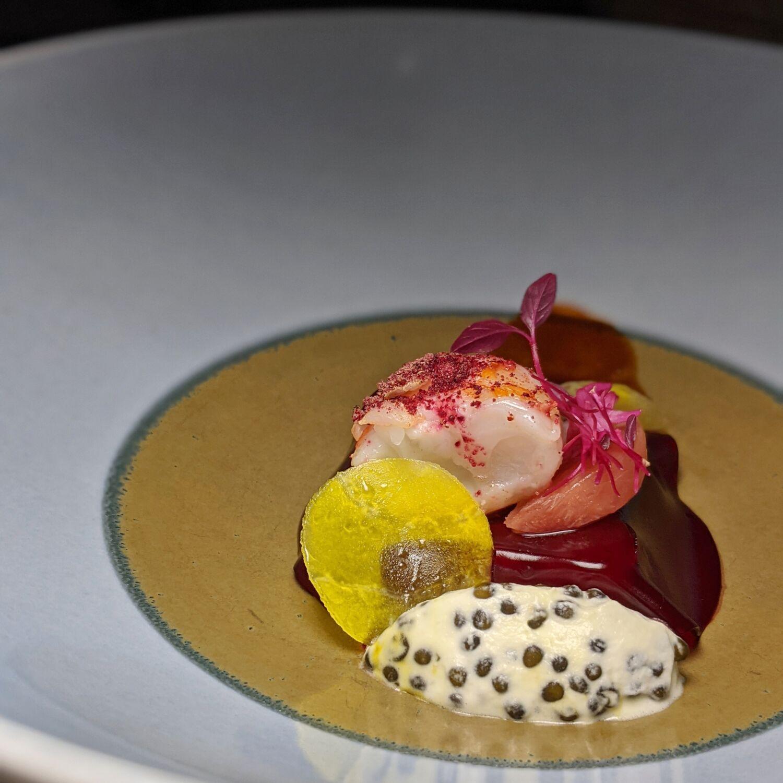 Restaurant JAG Beetroot, Sapin, Langouste